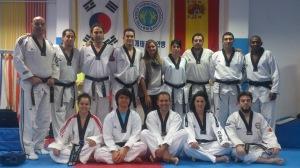Curso entrenadores Taekwondo 2015