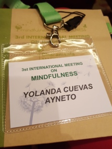 3st International Meeting on Mindfulness