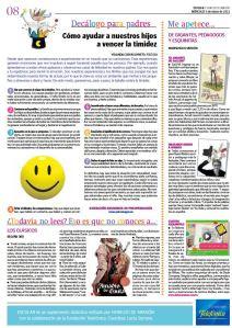 articulo Heraldo Decálogo timidez