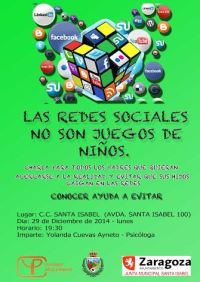 Cartel redes RSD
